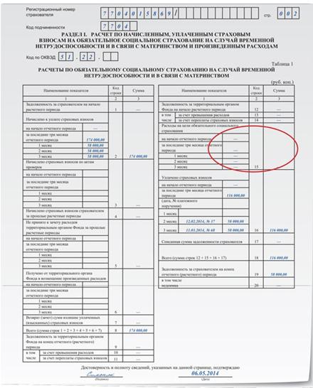 Ошибочно выплачено пособие: как в форме 4 ФСС показать корректировку