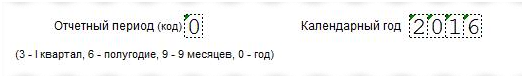 Образец заполнения РСВ-1 за 4 квартал 2016 года