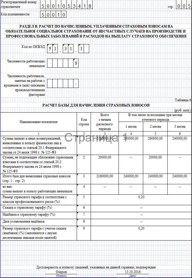 Инструкция по заполнению 4-ФСС за 3 квартал 2016 года