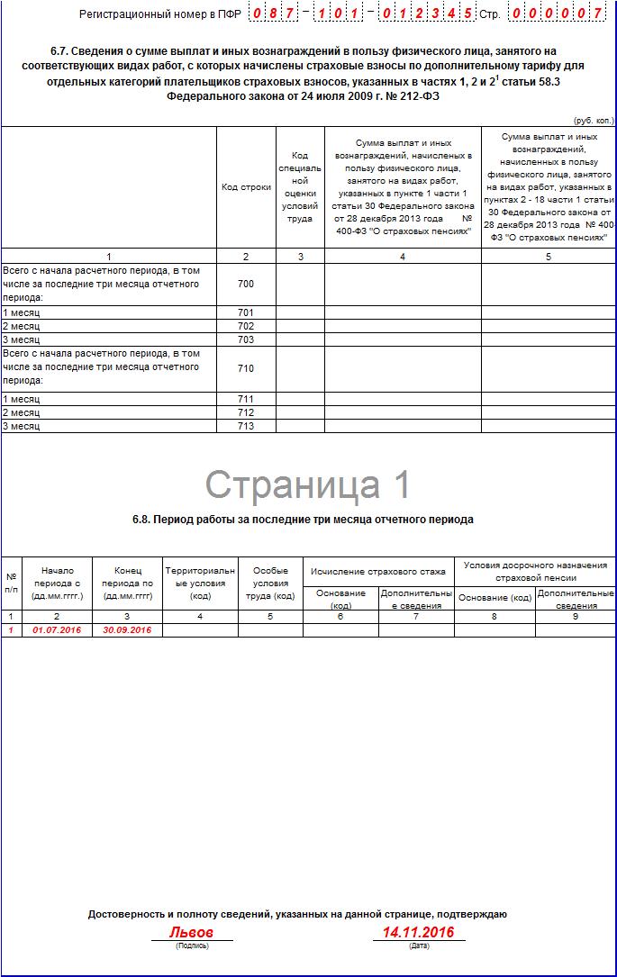 Как сделать нулевую рсв-1 за 1 квартал 2015